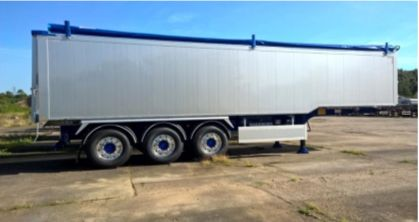 2018 Fruehauf Step Frame Smooth Side Tipper